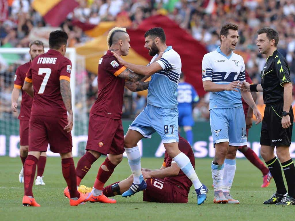 The Roma-Lazio derby remains the two biggest games of the season for us.