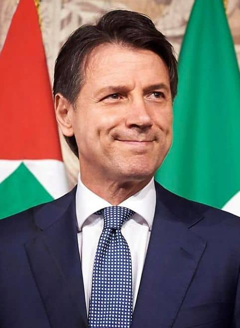 Prime minister Giuseppe Conte extended restrictions in Italy while fighting for his political life.