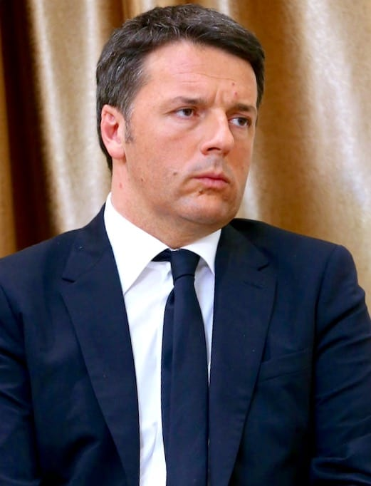 Former prime minister Matteo Renzi is going after Conte.