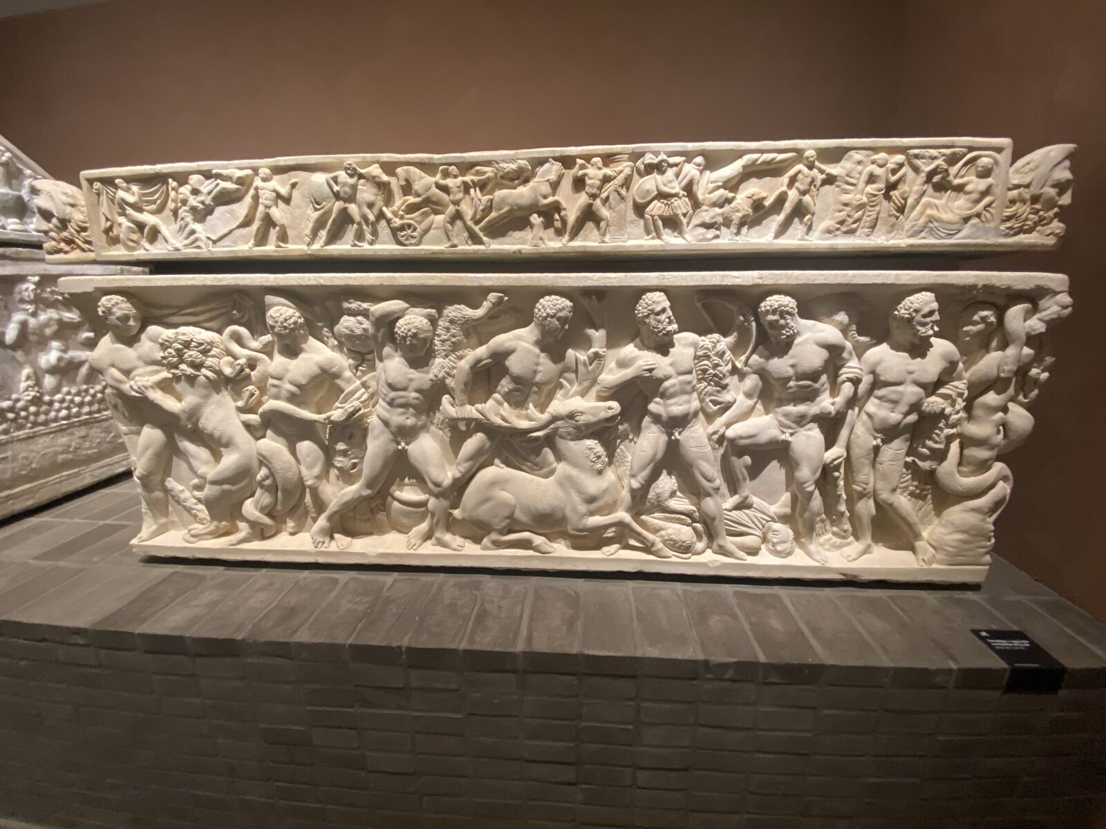 The Sarcophagus with the Labours of Hercules.