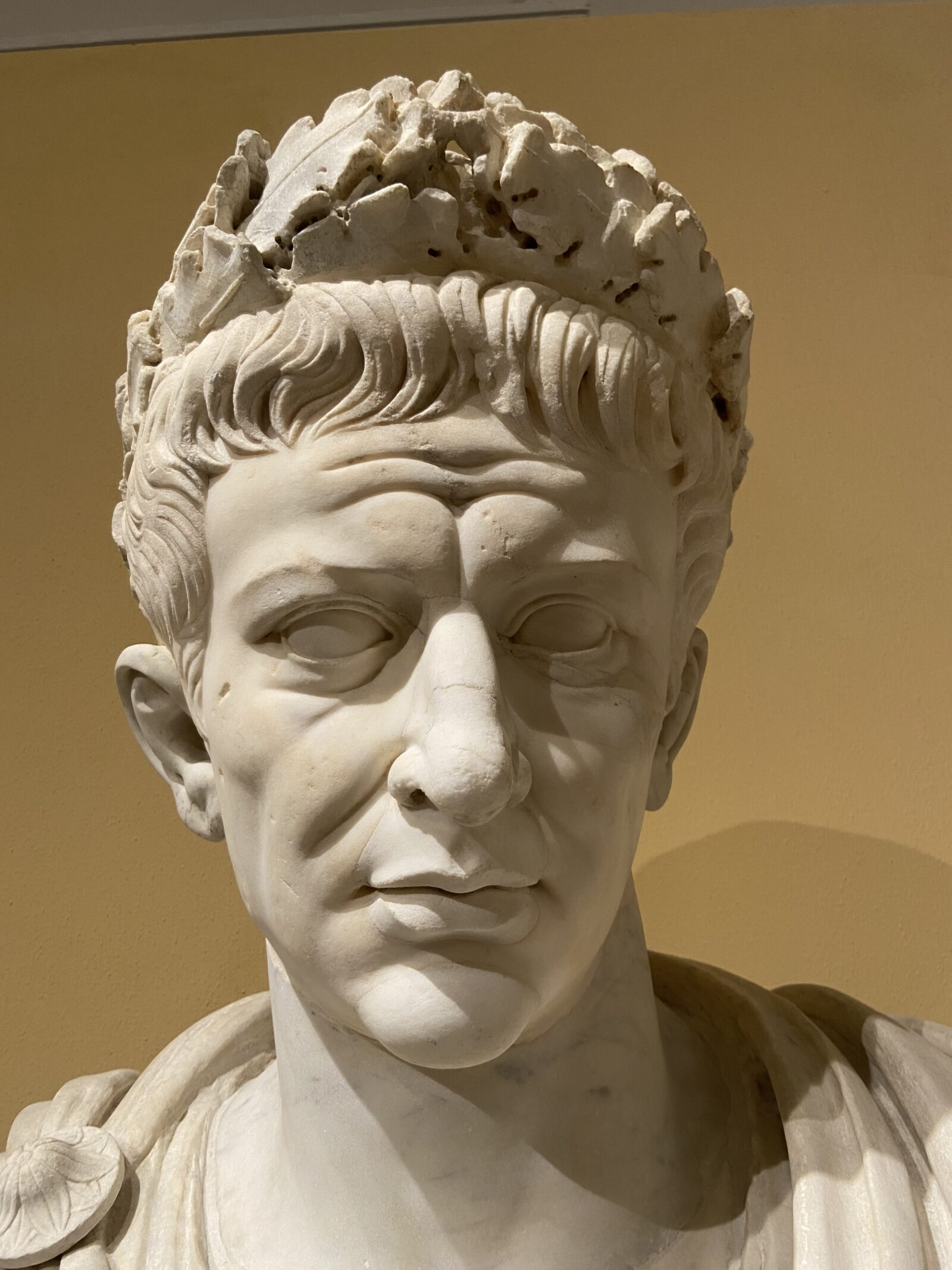 Emperor Claudius from the 1st century A.D.