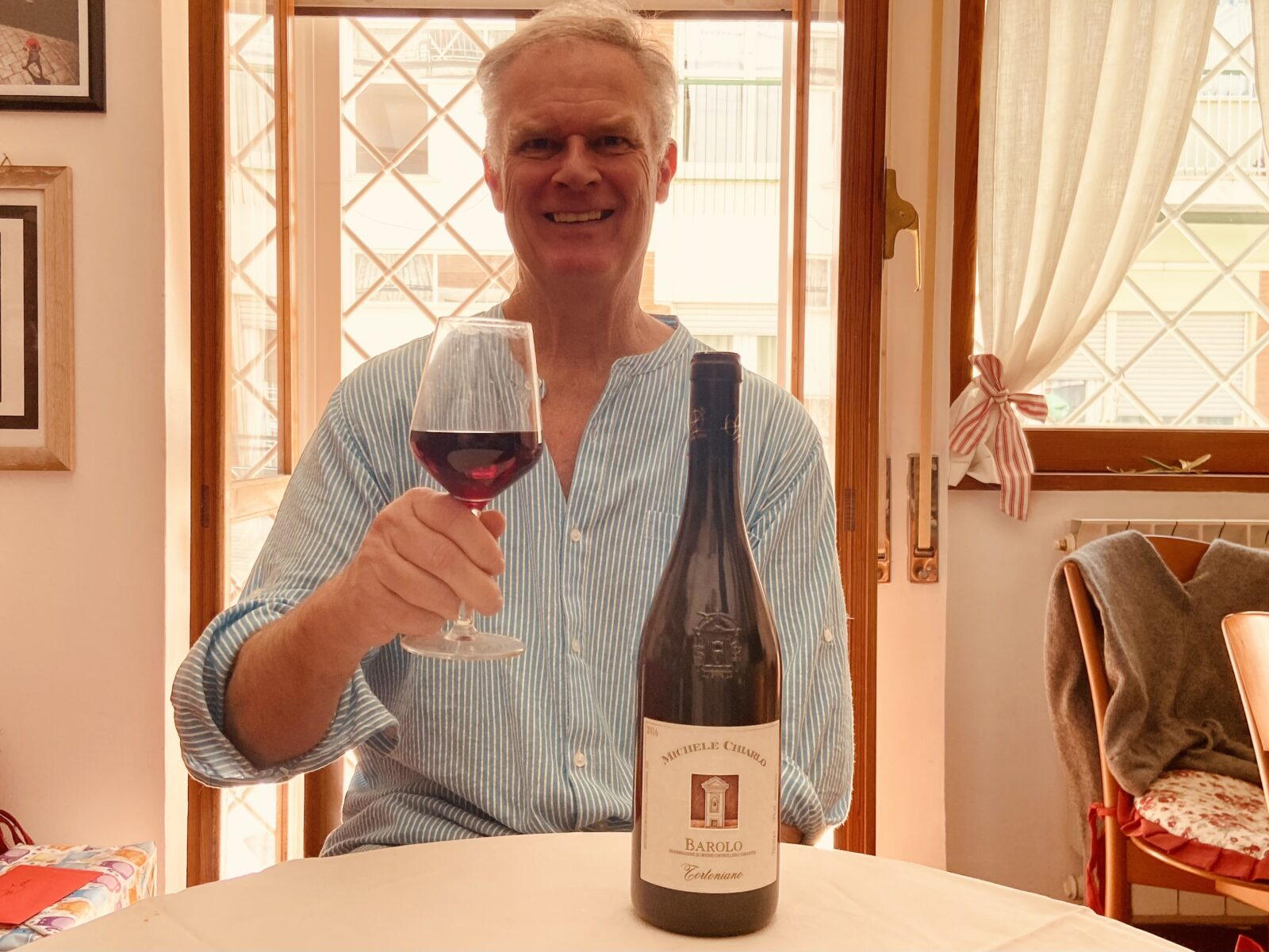 With Barolo, my favorite wine in the world, every day can feel like a birthday.