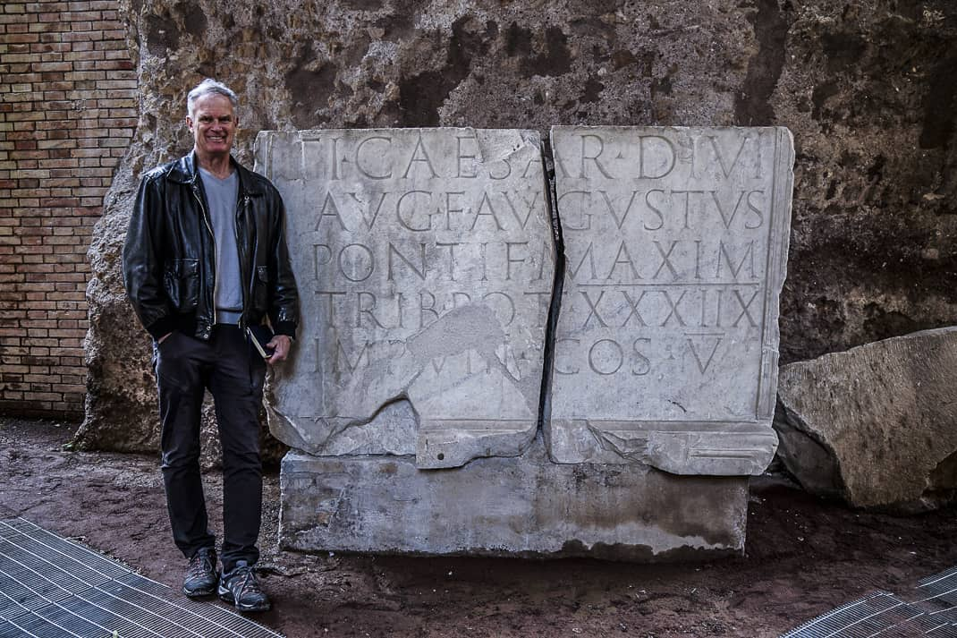 My trip to the mausoleum gives me more appreciation to the glory of Ancient Rome.