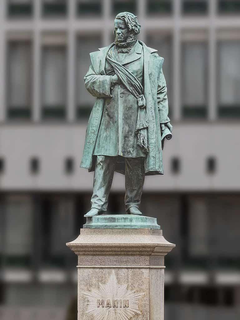 Daniele Manin, the last president of the Venetian Republic.