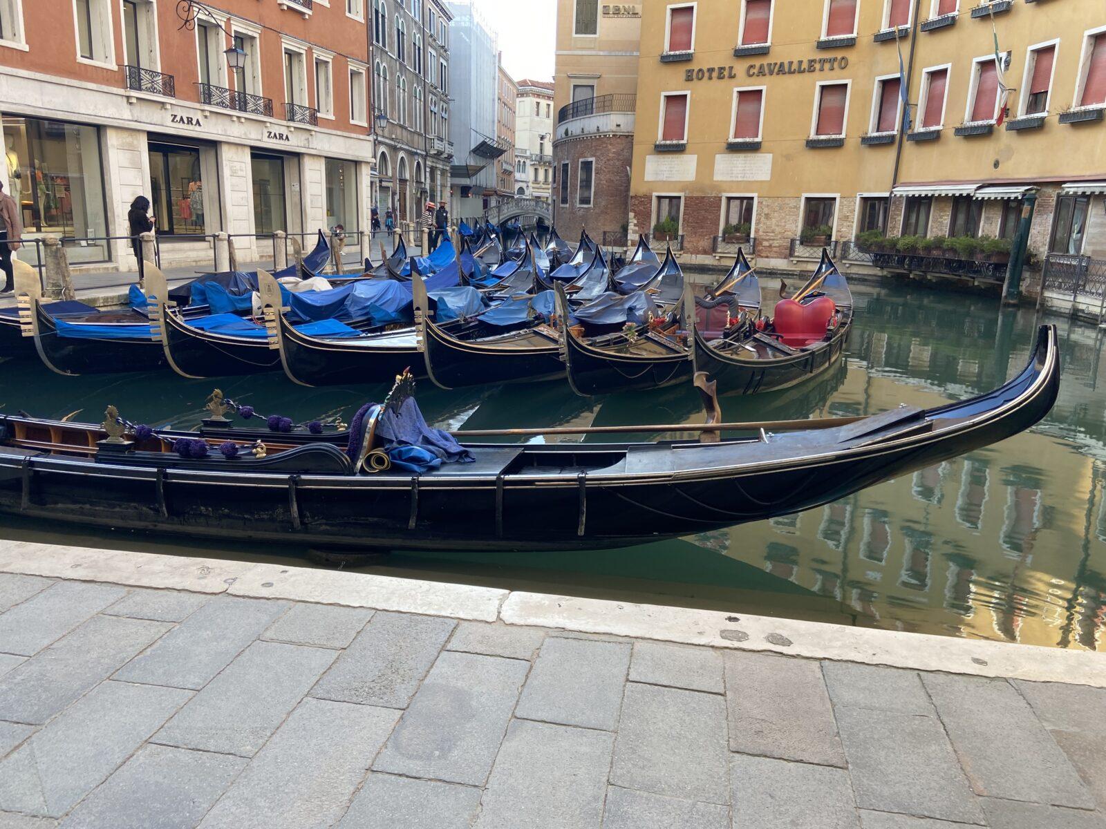 Venice has used gondolas since the 11th century.