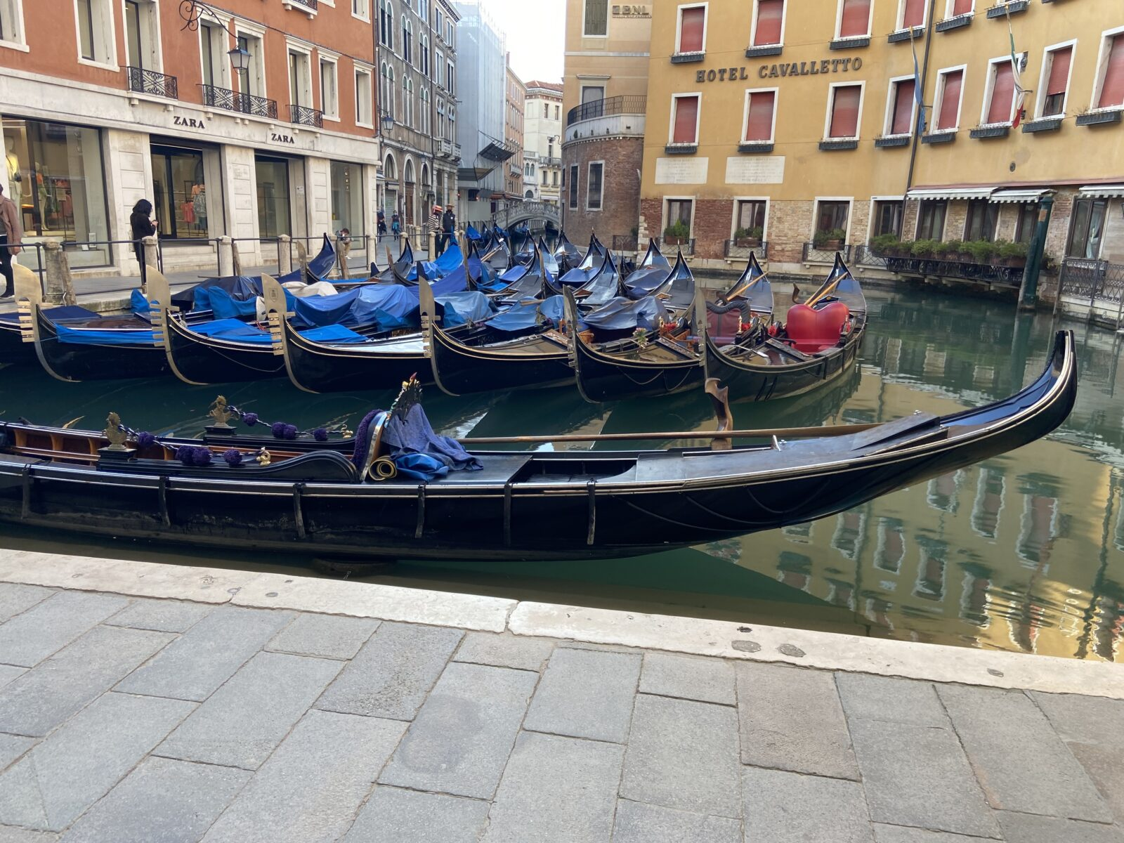 The gondola business has had a rough year.