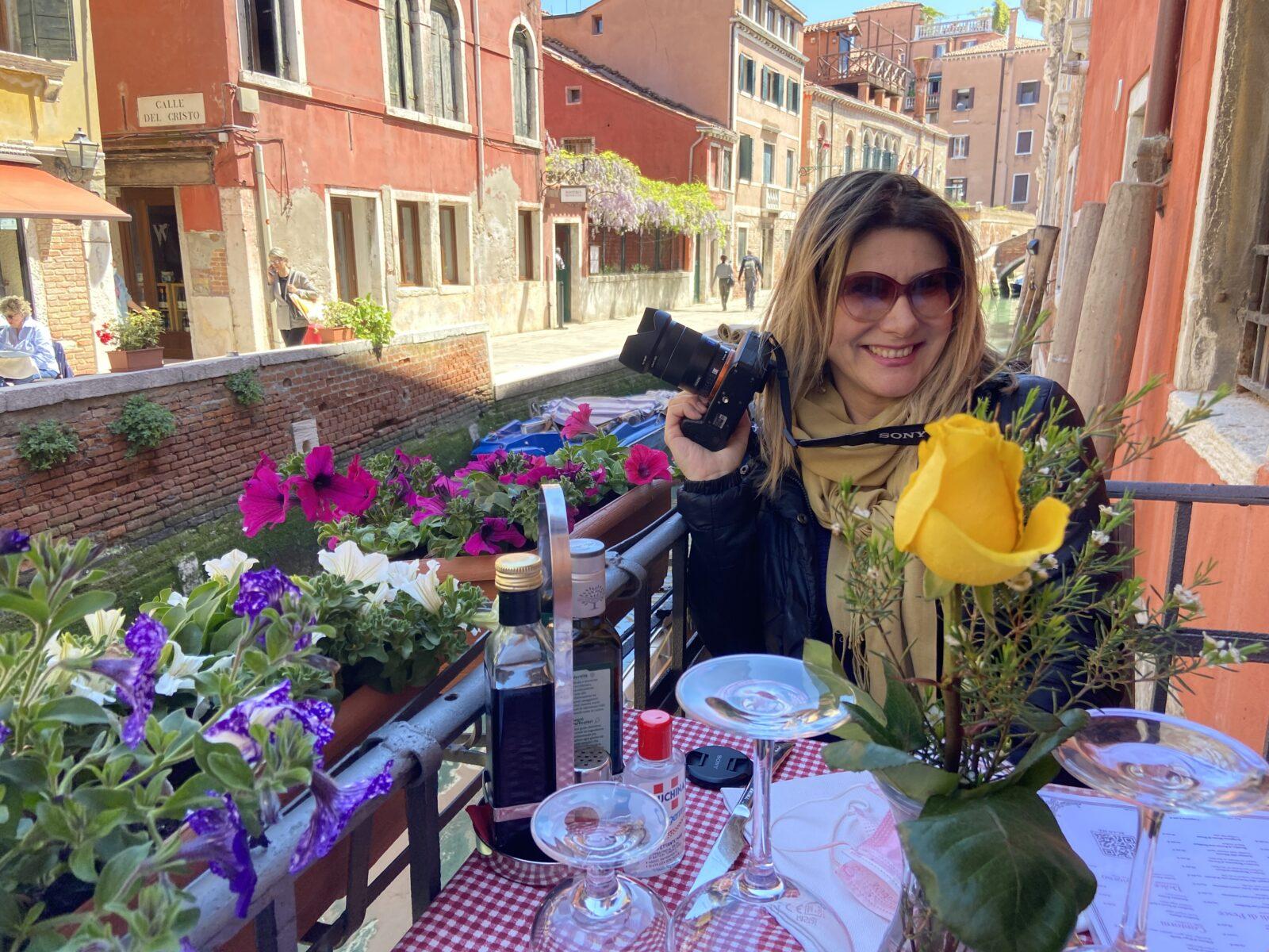 Marina at Trattoria Dona Onesta.