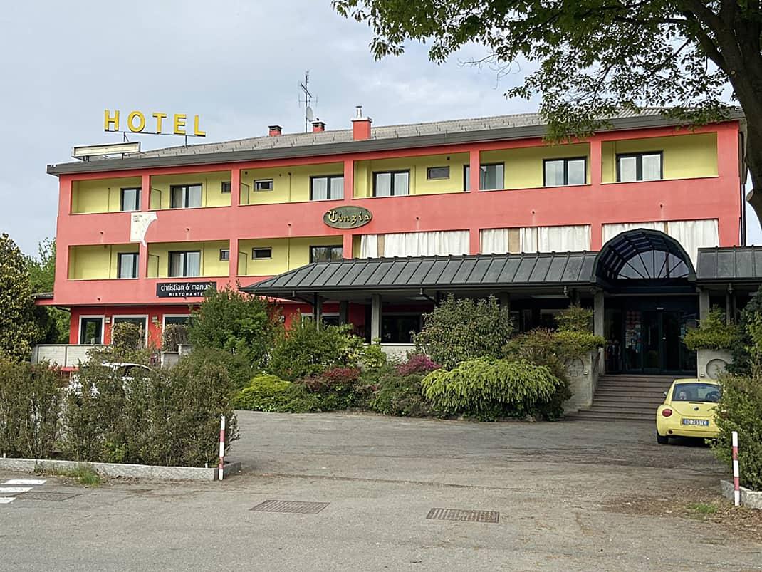 Hotel Cinzia, home of Christian & Manuel Ristorante.