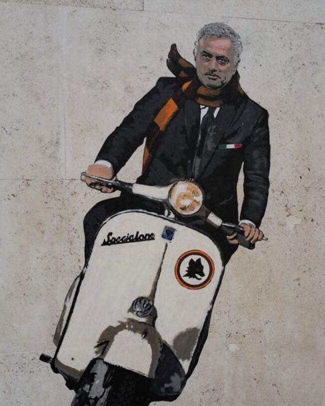 Mourinho painting