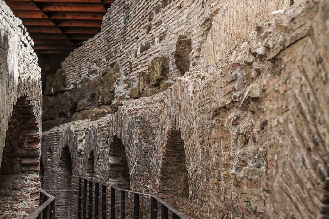 The brick and stufa are almost all original.